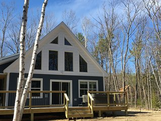 NEW Construction, Riverfront, close to downtown Bethel and Sunday River