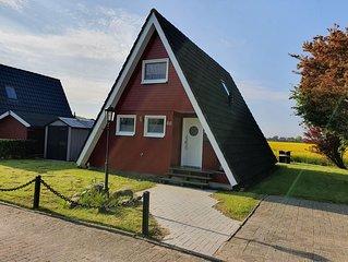 Nurdachhaus 'Murmel 3', Kamin, Kostenloses WLAN , Strandkorb