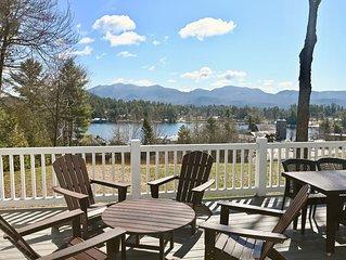 Veranda Overlooking Mirror Lake 4 Bedroom Residence