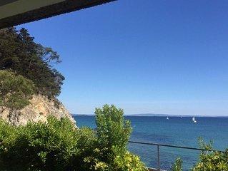 appartement avec grande terrasse vue mer