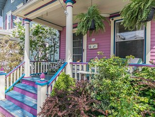 Beautiful Victorian 4BR House Short Walk to Beach and Asbury Park Restaurants