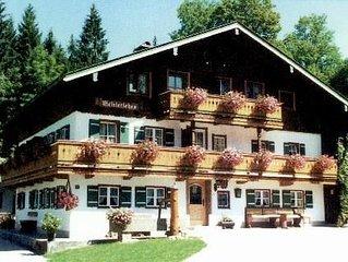 Ferienwohnung Schönau a. Königssee für 1 - 4 Personen - Ferienwohnung