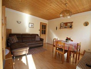 Ferienwohnung Bauernhaus, 55 qm Obergeschoss, 1 separates Schlafzimmer