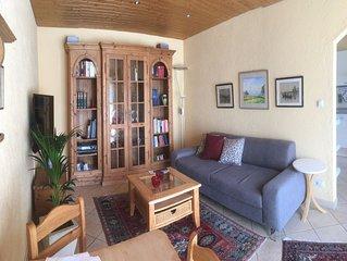 Ferienwohnung, 60 qm Erdgeschoss, 2 separate Schlafzimmer
