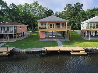 Bayou Bliss Waterfront Property