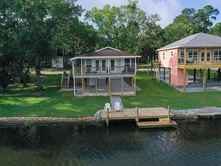 Bayou Sol waterfront property on the bayou
