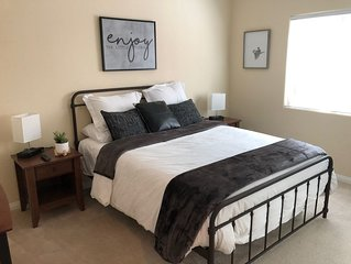 First Floor 2BD/2BTH + Murphy Bed Sleeps 4-6
