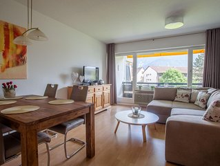 """Die Wohnung """"Alpenzauber"""" ist in bester Lage von Garmisch-Partenkirchen mit Pano"""