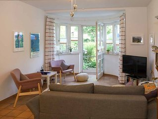 Komfortable Ferienwohnung für 2-3 Personen mit Terrasse und Bergblick