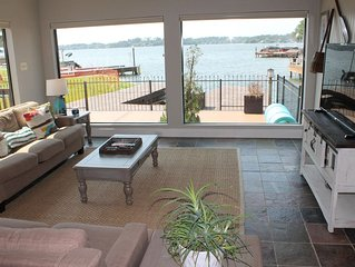 Escape to Lake Conroe, Great Water Front Property with Amazing View and Dock