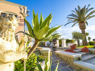 VILLA TITINA: two independent and panoramic apartments with sea-sunset view