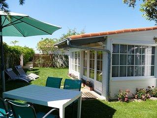 Le Cottage, maison avec jardin 300 mètres de la plage