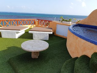 Villa Sirenas Has A Great View And Quiet Place.