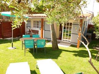 La Belle Bleue, maison avec jardin 300 metres de la plage