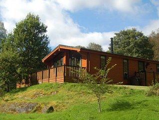 Luxury Woodland Oak Lodge