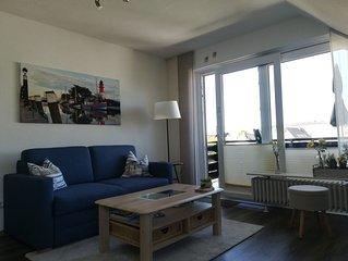 Haus Kogge, 3 Sterne FeWo Kleine Perle für 2 Personen mit Balkon und Fahrrädern