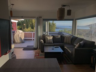 OCEAN VIEWS! 2BED/BATH BEACH FLAT 1 BLOCK TO THE BEACH.(noise sensitive complex)