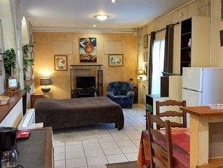 Appartement 40m2 rez de chaussee, a proximite du centre de Saumur
