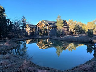 NEW, BEAUTIFUL, LARGE MOUNTAIN HOME IN TORREON, HOT TUB IN DECK
