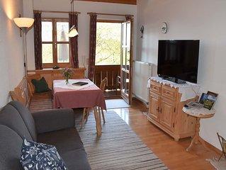 Nr. 5 Ferienwohnung, 40 qm Obergeschoss, 1 separates Schlafzimmer