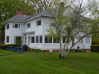 GREAT GETAWAY ! a 3200 sq. ft. LAKEFRONT HOUSE, LARGE YARD 176ft. OF WATERFRONT