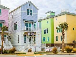 GREAT OCEAN VIEWS!!! BEAUTIFUL 2 BR/2 bath LUXURY CONDO SLEEPS 6