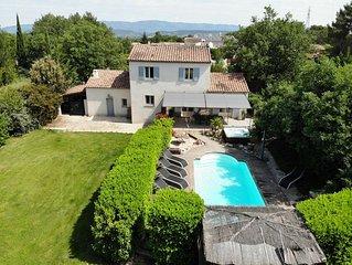 Au calme de la campagne Aixoise, maison provencale au Puy ste Reparade