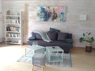 appartement cosy de 60 m2  dans maison individuelle au pays basque