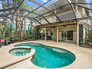 Pool �☀️ Hot Tub, Dock, Near Beach, Beach Gear!