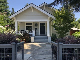 Charming Furnished Willow Glen Bungalow