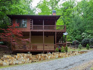Welcome to Bearadise! Charming cabin 10 minutes to downtown Blue Ridge!