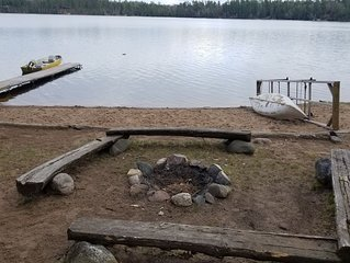 Experience Lake Life at this Northwoods Hideaway