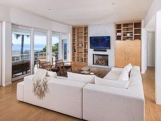 Malibu Broad Beach Home with private beach access