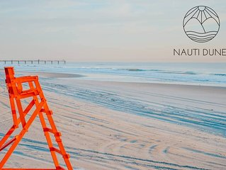 NautiDunes, on the beach * the center of Jax Beach | Pool