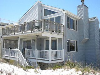 Oceanfront Long Beach Island Brant Beach sleeps 12+ Amazing Views