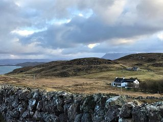 Torran Cottage, Stoer - NC500, Highlands. (With Piano)