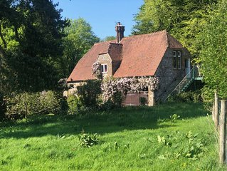 Beautiful Barn in rural Somerset, close to the coast, with stunning views