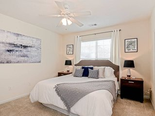 Spacious  2 bedroom unit near Suntrust Park | King Bed | 4k HDTV | fast WiFi