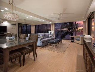 Direct Oceanfront Condo�Stunning Remodel�Curated Interior�Mahana at Kaanapali