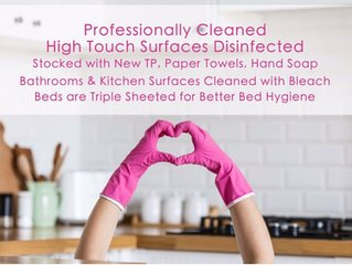 ⭐️⭐️  theLOFTonJAMES ⚡️CDC-RECOMMENDED CLEANING⚡️⭐️⭐️
