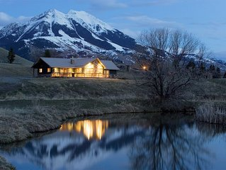 Yellowstone River access, trout stocked ponds, 5 minutes to Chico Hot Springs!