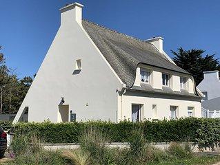 Appartement 3* dans maison individuelle proche Ile de Batz - Maison avec jardin