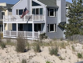 Oceanfront LBI Beach House, Sleeps 12+, Private Access to Beach