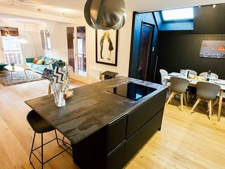 Modern Apartment 5p, 200m Lake Annecy