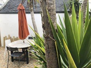 Appartement  4/6 personnes en Rez de jardin La plage a 500 metres