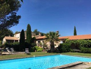 La Manjiuca,  grande maison de type provençale