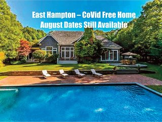 East Hampton: Spring or Summer Rental – 5 Bedrooms, 6.5 Bathrooms