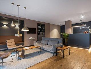 Serviced Apartment in Frankfurt Bahnhofsviertel,Zentrum,Langzeit,Free WiFi