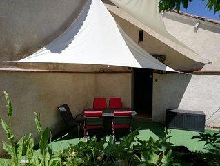 Ferienhaus mit Garten in Bourdeilles / Périgord