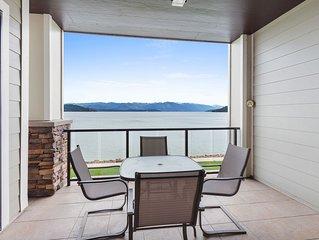 Incredible views! 3bd condo at Seasons Sandpoint!